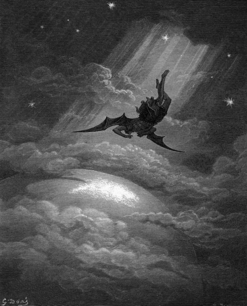 Gustave Doré 1832 – 1883: The Fallen Angel