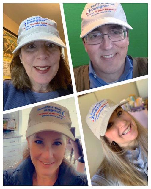 Virginia Community College System Instructional Designer Hats