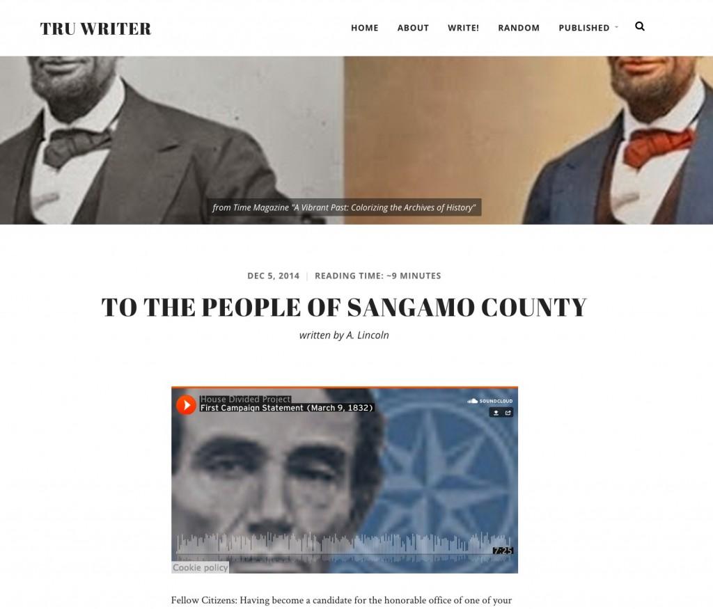 sangamo county